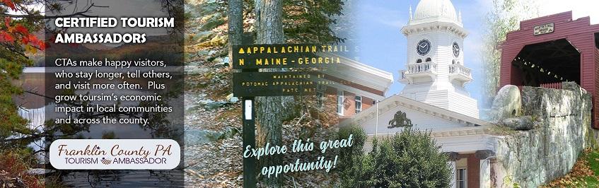 Franklin County Visitors Bureau joins Certified Tourism Ambassador Program and hires CTA Director