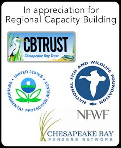 Franklin County Visitors Bureau was awarded a Regional Capacity Building Grant by the Chesapeake Bay Funders Network.