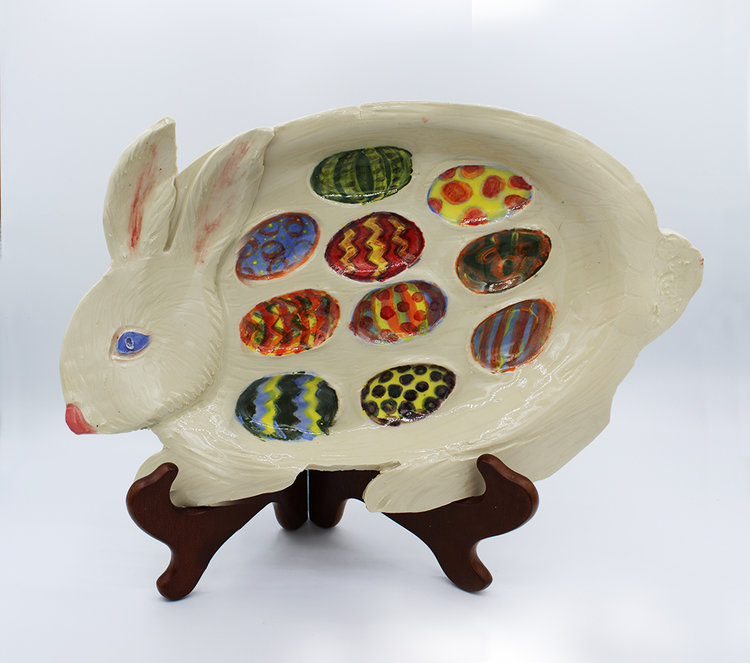 Make An Easter Egg Plate at Ceramic Arts Center in Waynesboro