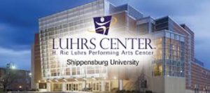 The Luhrs Center is a 1500-seat facility within an easy drive of Harrisburg PA and Harrisonburg VA.