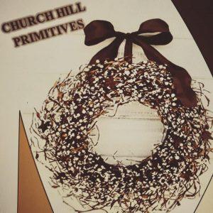 MERCERSBURG Church Hill Primitives Christmas Open House