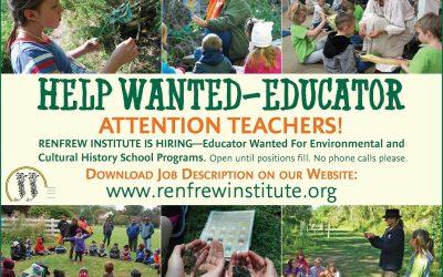 Renfrew Institute in Waynesboro Seeks Educators