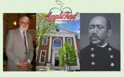 Author Bob O'Connor Talks About Martin Delany at 11/30 Center at AppleFest 2019